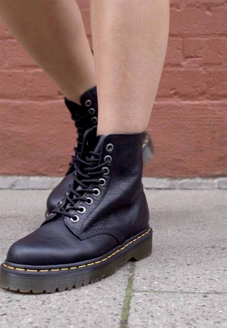 Dr. Martens - 1460 PASCAL BEX - Lace-up ankle boots - black pisa - 1