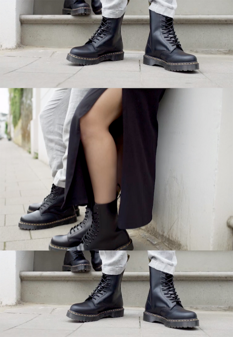 Dr. Martens - 1490 BEX - Lace-up boots - black smooth - 1