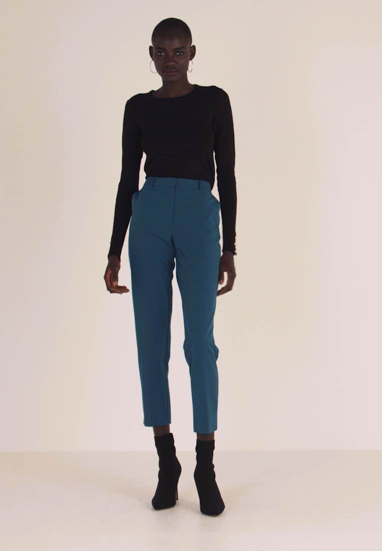 Dorothy Perkins Tall - ANKLE GRAZER - Pantalon classique - blue - 1