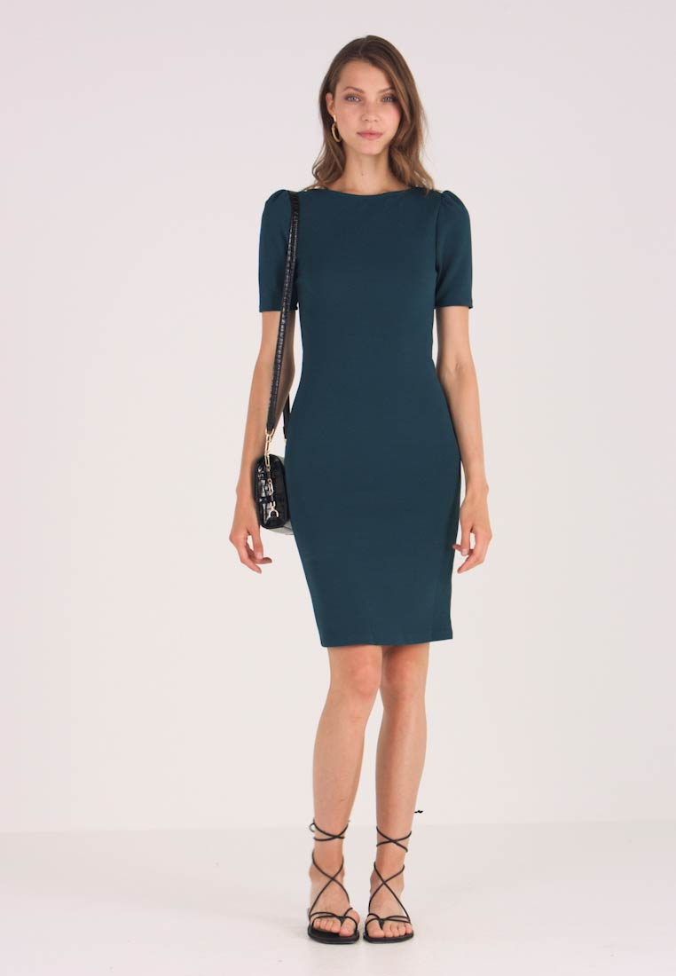 Dorothy Perkins - PUFF SLEEVE BODYCON - Etuikjoler - green - 1