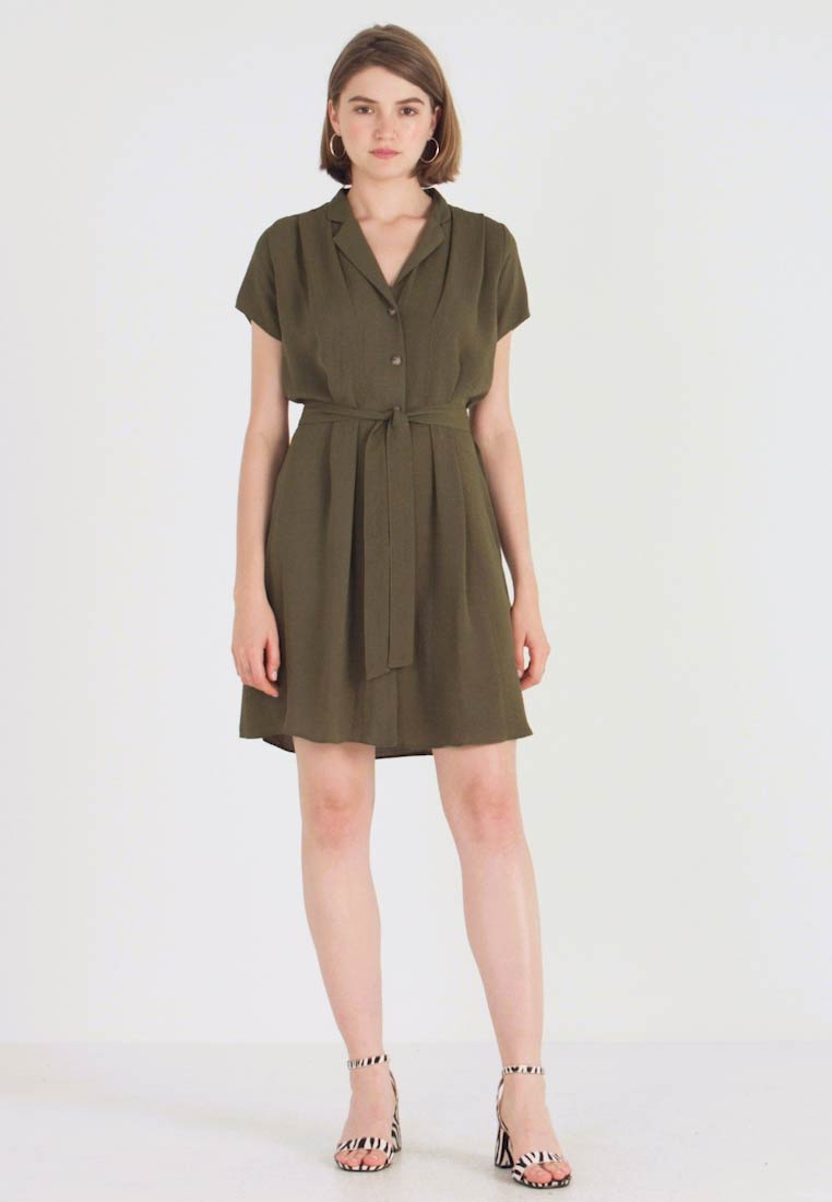Dorothy Perkins - PLAIN DRESS - Paitamekko - khaki - 1