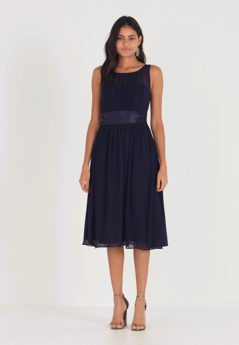 Dorothy Perkins - BETHANY MIDI DRESS - Vestito elegante - navy - 1