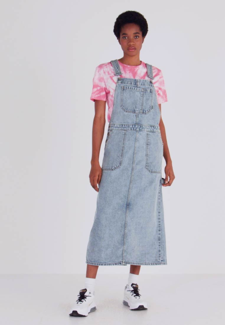 Dr.Denim - HANAE PINAFORE DRESS - Denim dress - downtown blue - 1