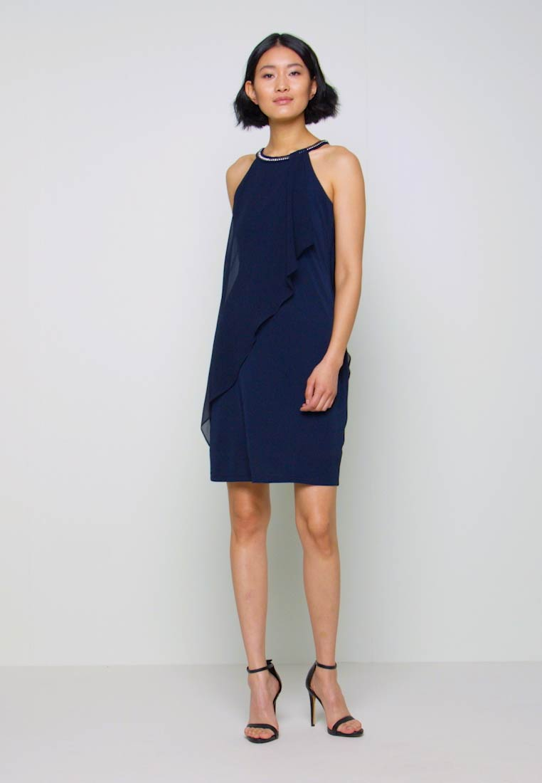 LUX FLUID - Cocktailkleid/festliches Kleid - navy