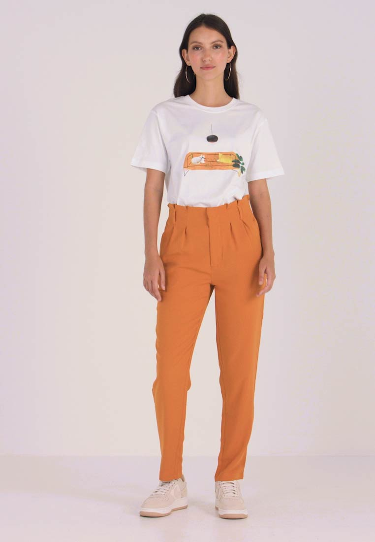 Even&Odd - Trousers - mustard - 1