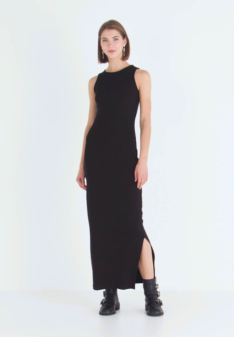 Even&Odd - Vestido largo - black - 1
