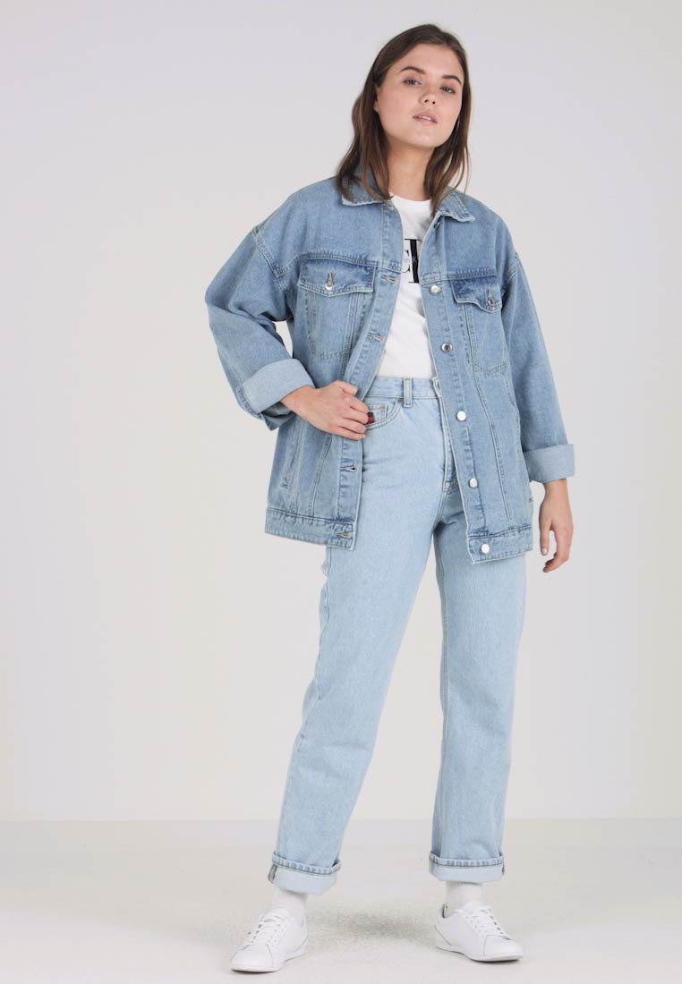 Even&Odd - Giacca di jeans - light blue - 1