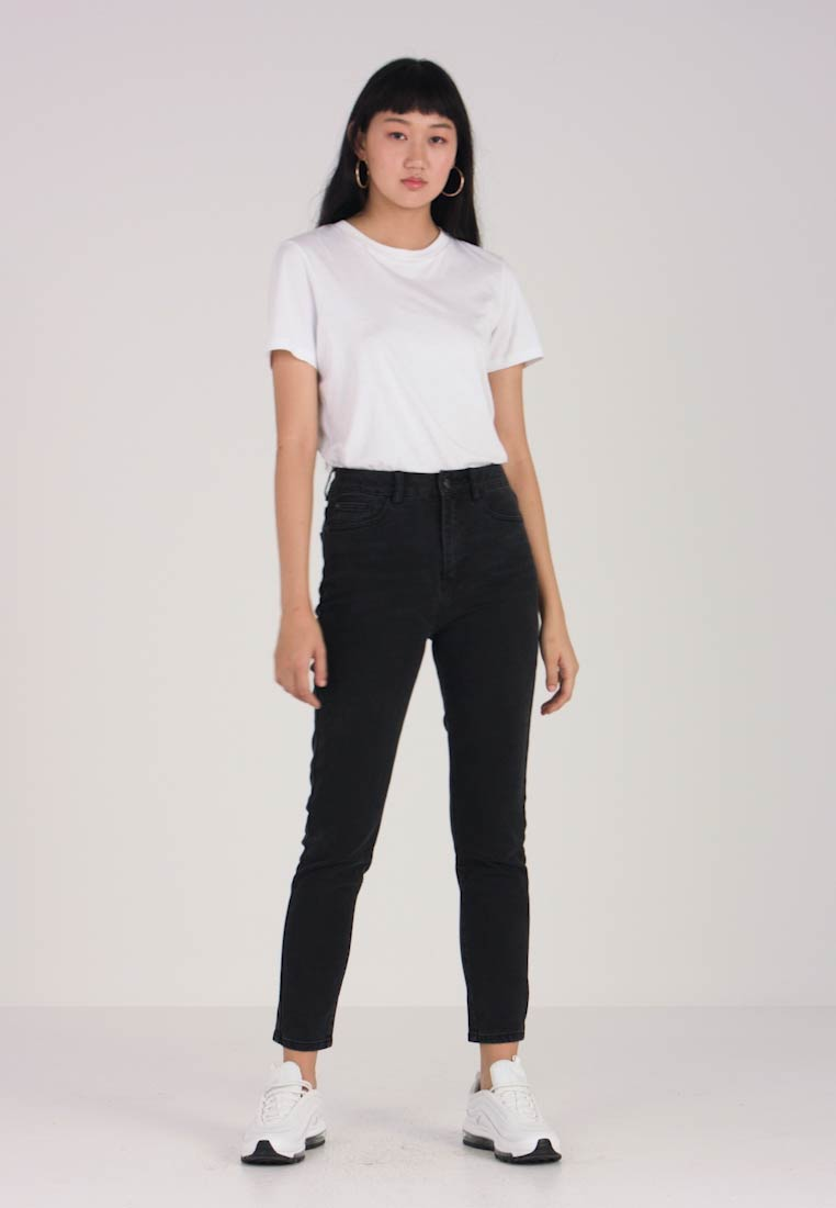 Even&Odd - Relaxed fit jeans - black - 1