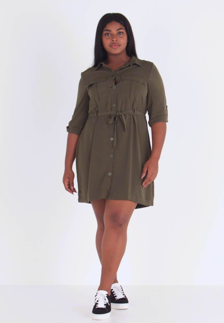 Even&Odd Curvy - Paitamekko - olive night - 1