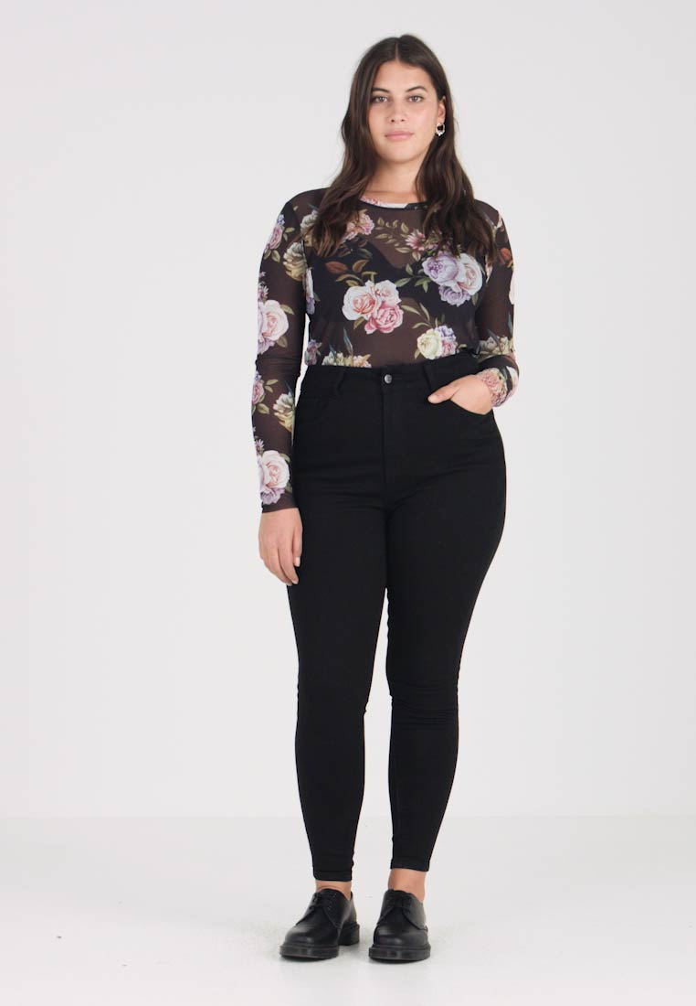 Even&Odd Curvy - Jeans Skinny Fit - black - 1