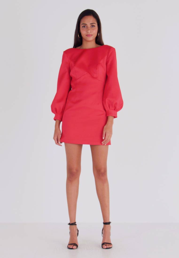 Forever New - TAZMIN MINI BOW DRESS - Cocktail dress / Party dress - red - 1