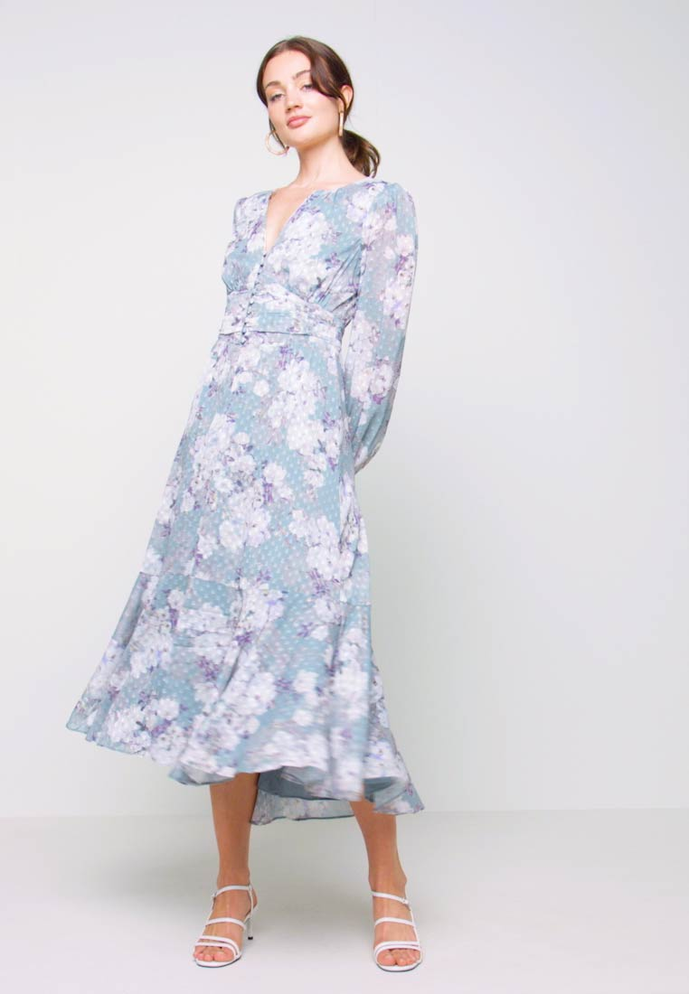 Forever New - FLORAL HIGH-LOW - Robe longue - mint - 1