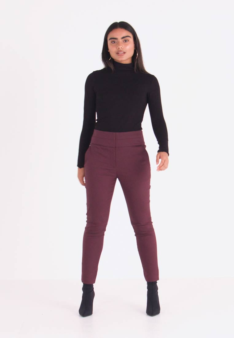 Forever New Petite - GEORGIA PANT - Trousers - wine - 1