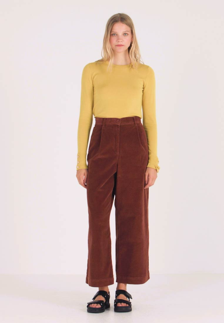 French Connection - MANZU WIDE LEG TROUSERS - Trousers - casablanca - 1