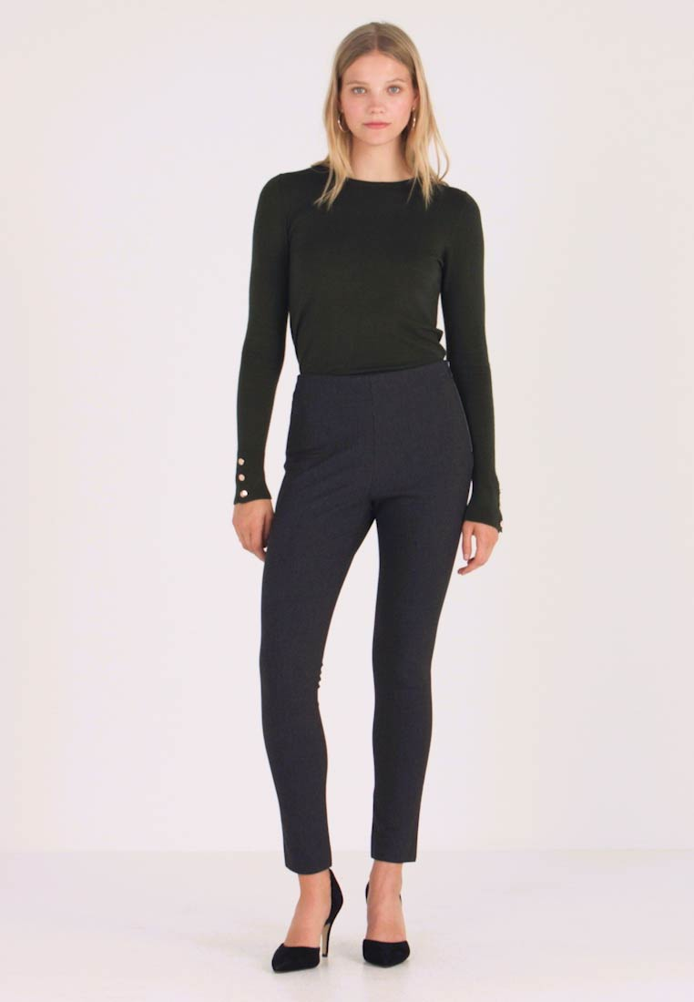 French Connection - CALIMERO MINI DOGTOOTH - Leggings - Trousers - grey - 1