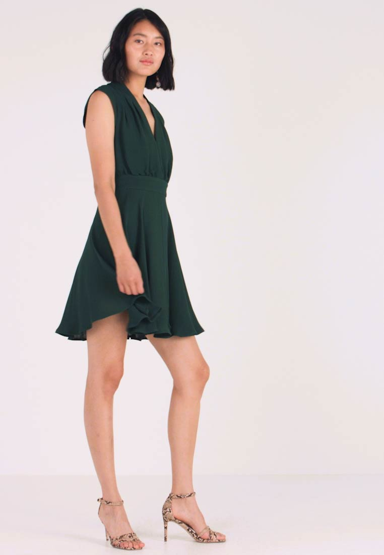 French Connection - CARRABELLE DRESS - Day dress - bayou green - 1