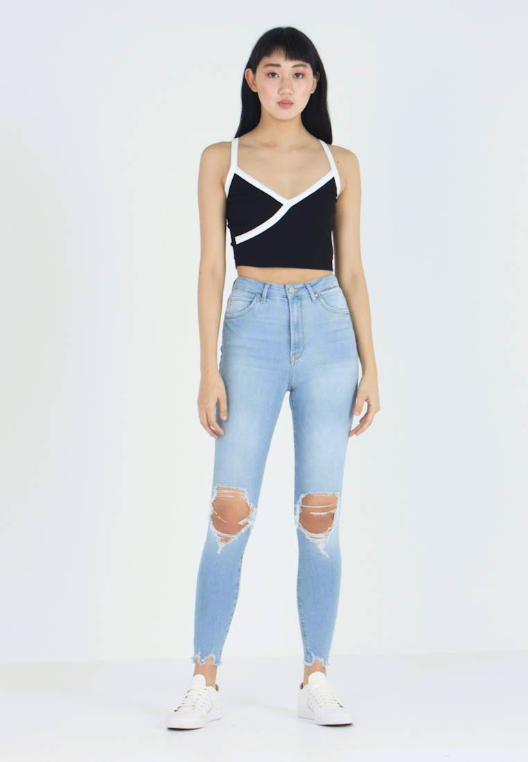 Gina Tricot - Jeans Skinny Fit - light blue - 1