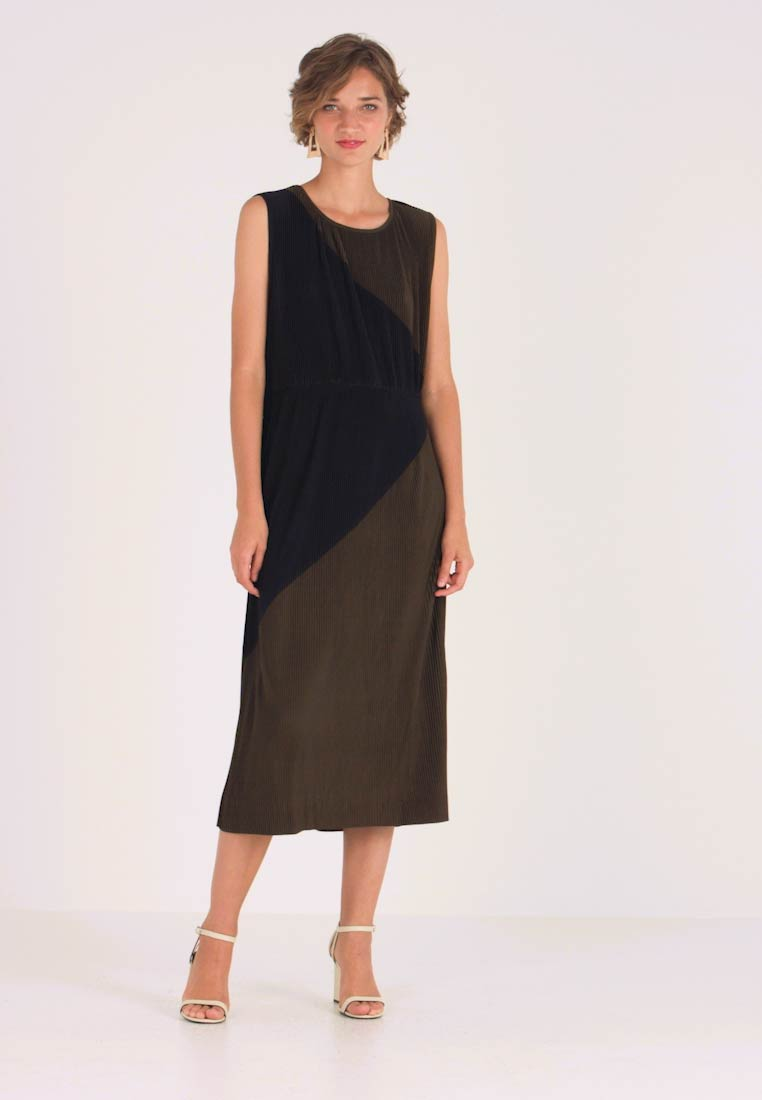 Great Plains London - MARNIE - Cocktail dress / Party dress - dark olive/black - 1