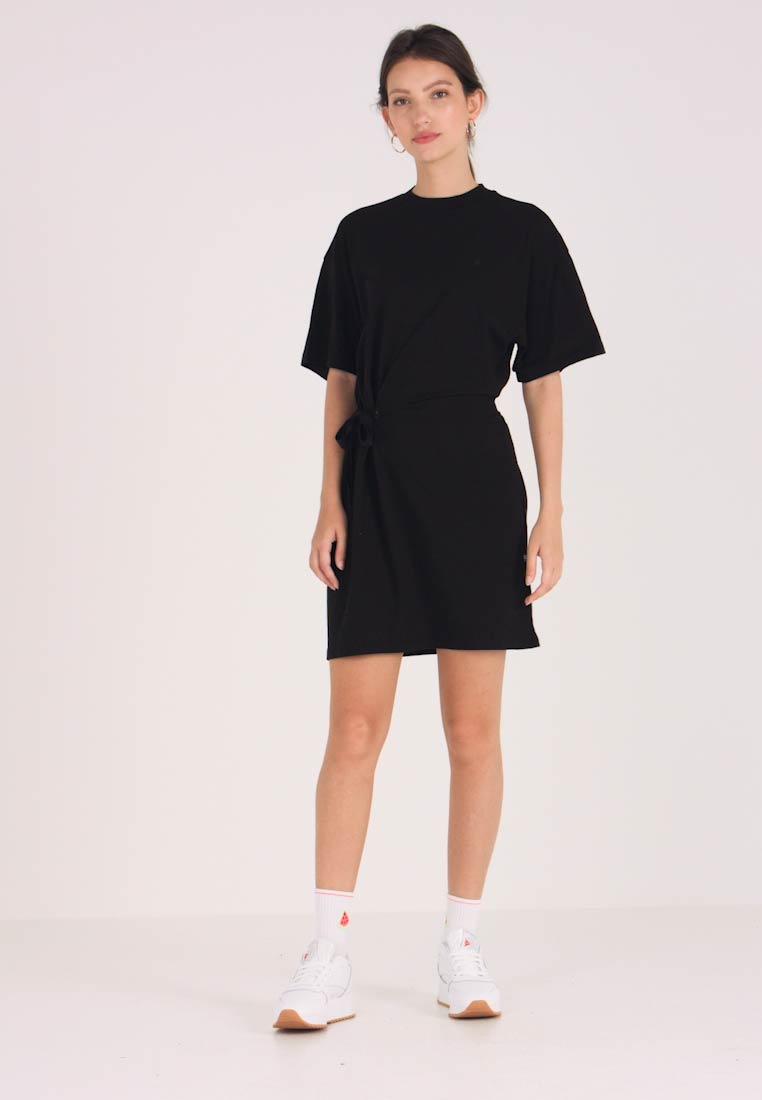 G-Star - DISEM LOOSE DRESS - Jerseyklänning - dk black - 1