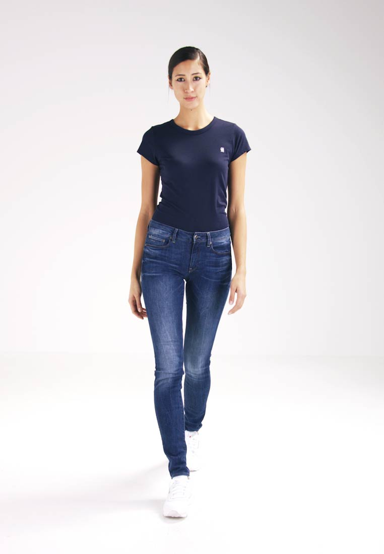 G-Star - 3301 HIGH SKINNY  - Slim fit jeans - yzzi stretch denim - 1