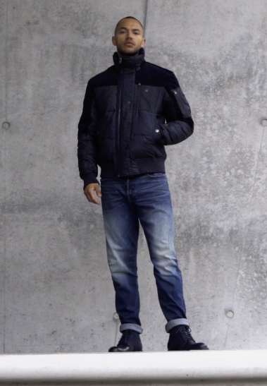 G-Star - SCUTAR 3D SLIM TAPERED - Jeans Tapered Fit - elto pure stretch denim- antic faded baum blue - 1
