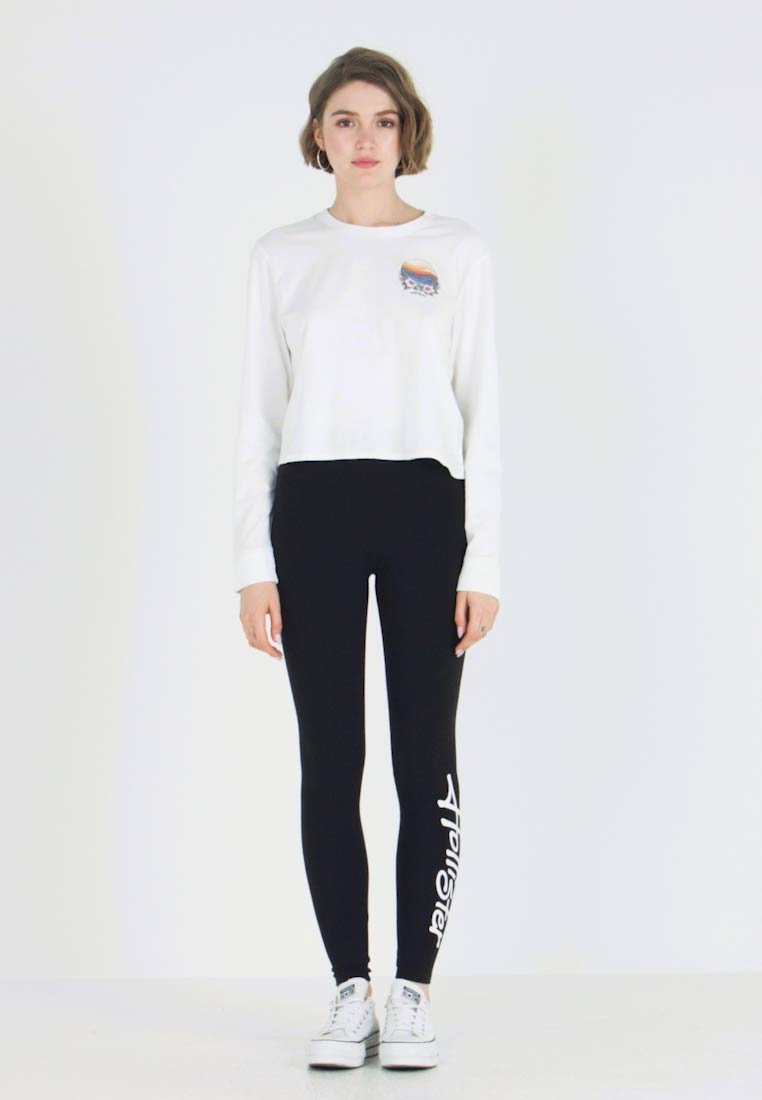 Hollister Co. - LONG SLEEVE IMAGERY  - Top s dlouhým rukávem - white - 1