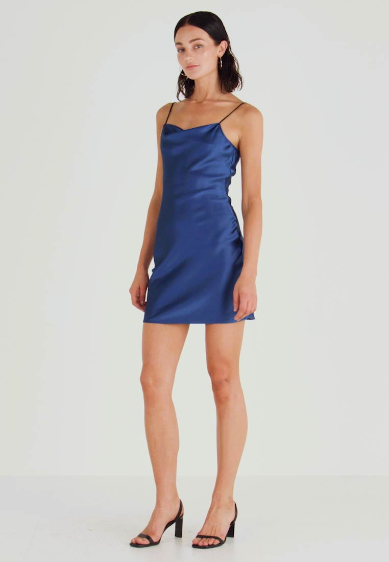 Honey Punch - STRAP DRESS - Cocktailkleid/festliches Kleid - navy - 1