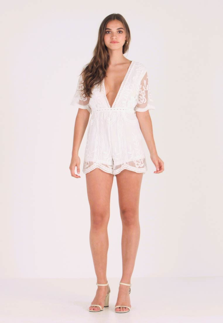 Honey Punch - ROMPER - Overall / Jumpsuit - white - 1