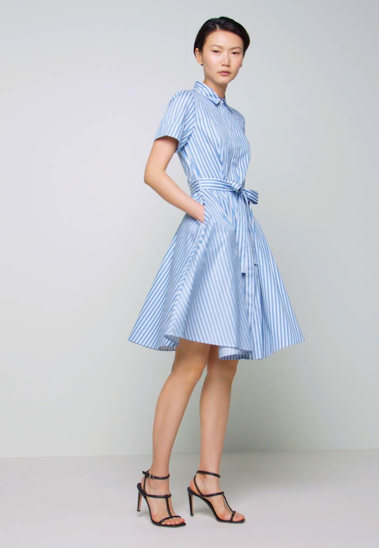 HUGO - EKALIANA - Shirt dress - light/pastel blue - 1