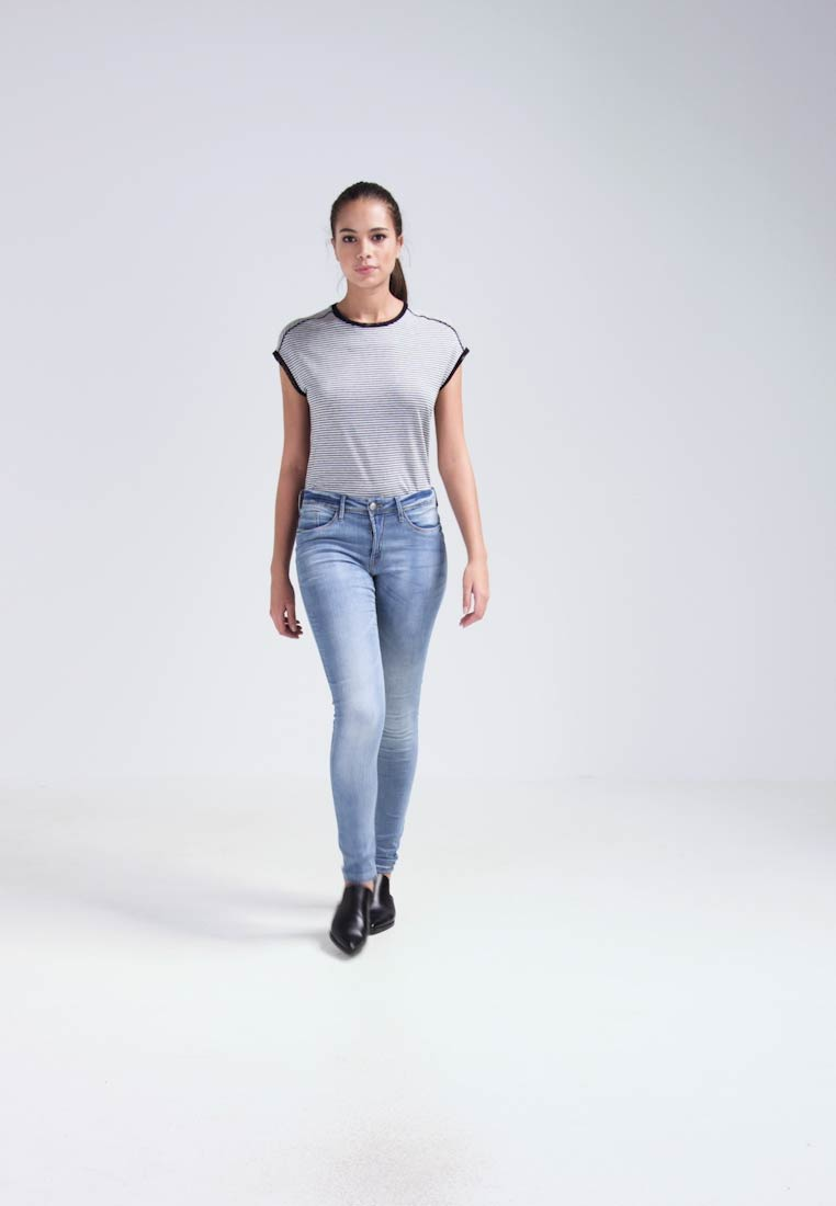 ICHI - ERIN - Jeans Skinny Fit - bleached light blue - 1