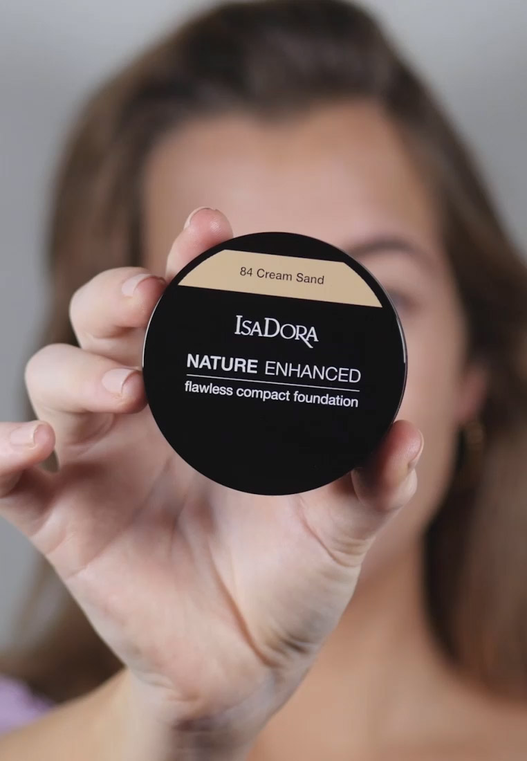 IsaDora - NATURE ENHANCED FLAWLESS COMPACT FOUNDATION - Foundation - natural ivory - 1