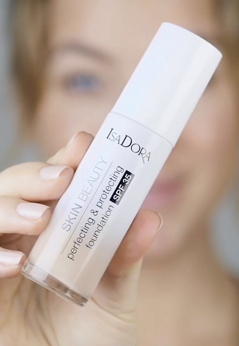 IsaDora - SKIN BEAUTY PERFECTING & PROTECTING FOUNDATION SPF 35 - Foundation - almond - 1