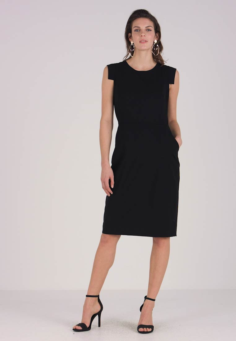 J.CREW TALL - RESUME DRESS BISTRETCH - Etuikleid - black - 1