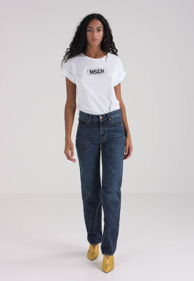 Kings Of Indigo - LUCY - Straight leg jeans - blue marble - 1
