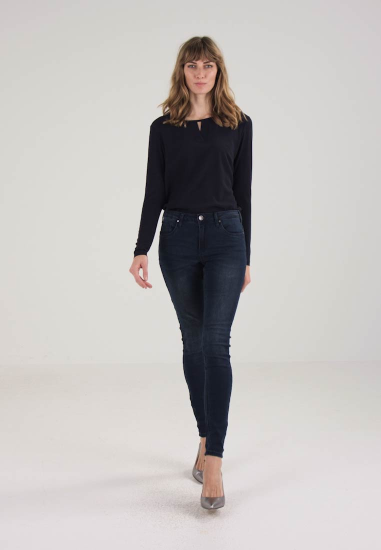 Kaffe - GRACE  - Slim fit jeans - deep well denim - 1