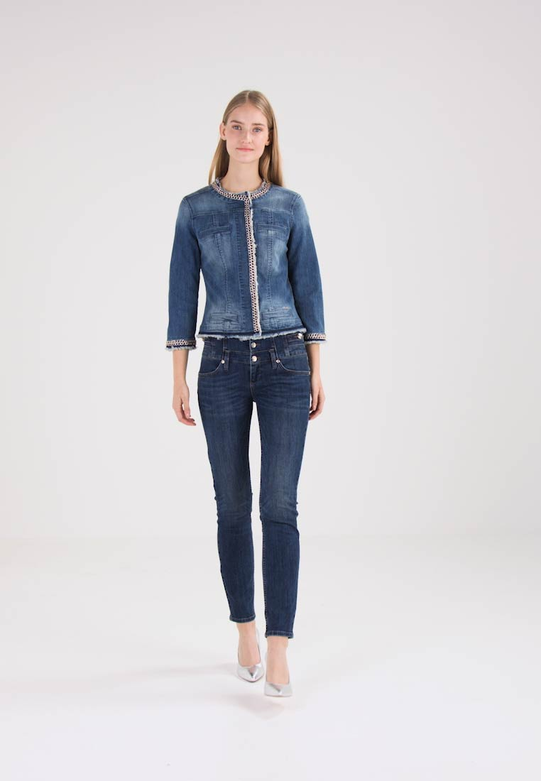 Liu Jo Jeans - KATE - Jeansjakke - denim blue stretch - 1