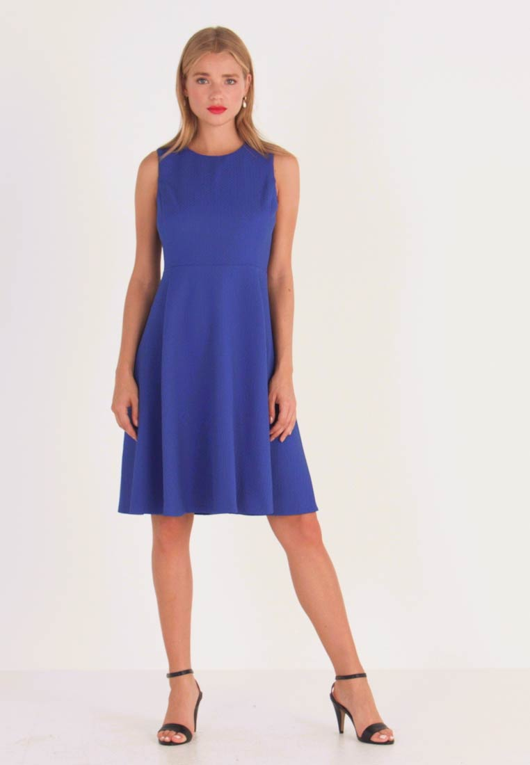 Lauren Ralph Lauren Petite - CHARLEY SLEEVELESS DAY DRESS E - Jerseyklänning - french blue - 1