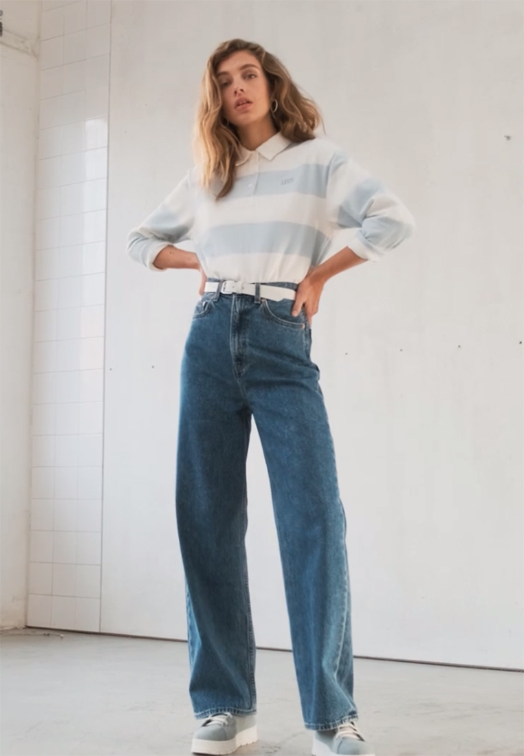 Levi's® - HIGH LOOSE - Relaxed fit jeans - now and then - 1