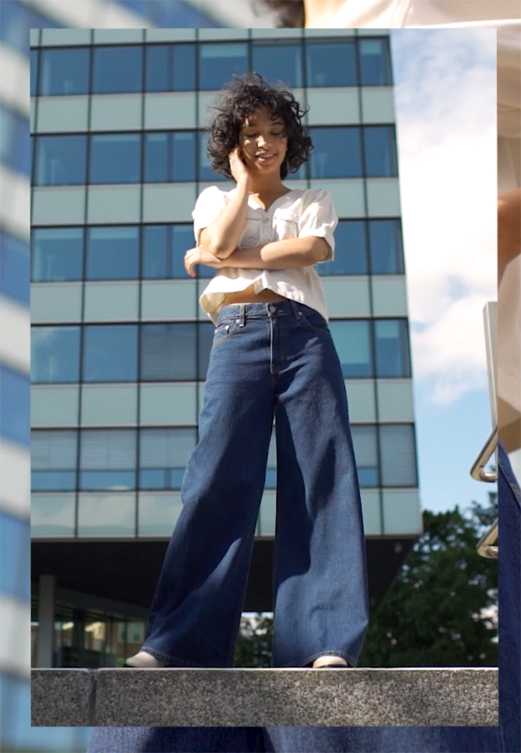 Levi's® - LOOSE ULTRA WIDE LEG - Flared Jeans - at the ready loose - 1