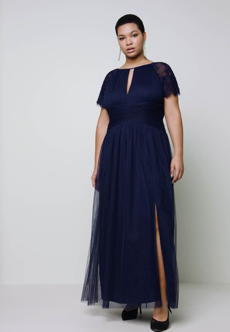 Little Mistress Curvy - MAXI TRIMS - Occasion wear - navy - 1
