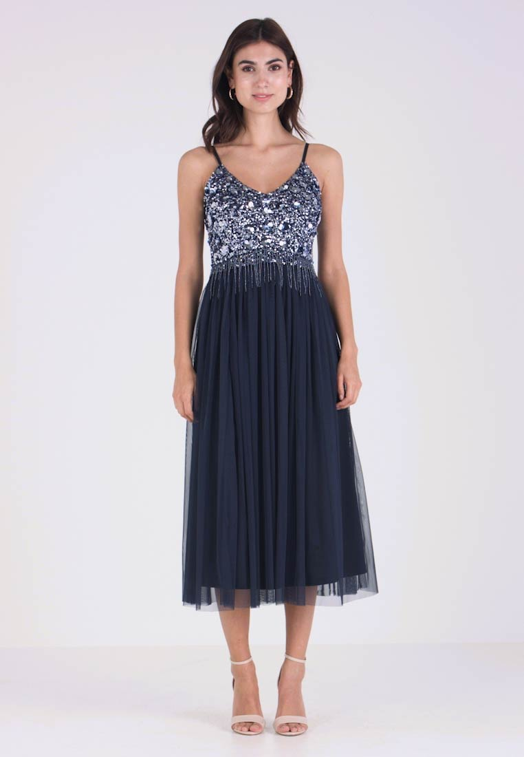 Lace & Beads - RIRI MIDI - Cocktailkjole - navy - 1