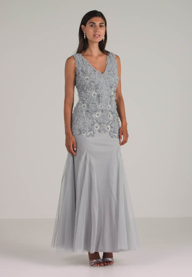 Lace & Beads - BANNI MAXI - Galajurk - grey - 1