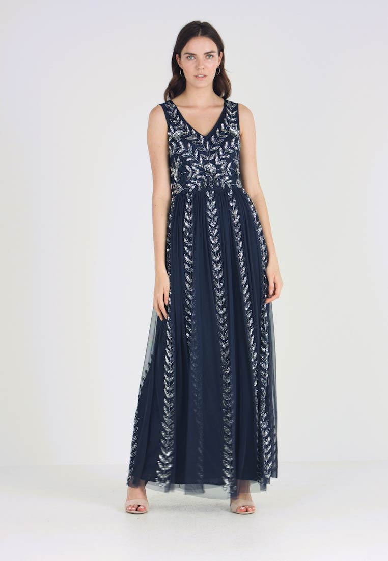 Lace & Beads - ACKLEY MAXI - Occasion wear - navy - 1