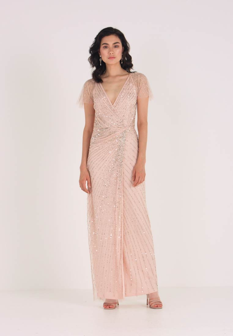 Lace & Beads - MAYSIE MAXI - Robe de cocktail - blush - 1