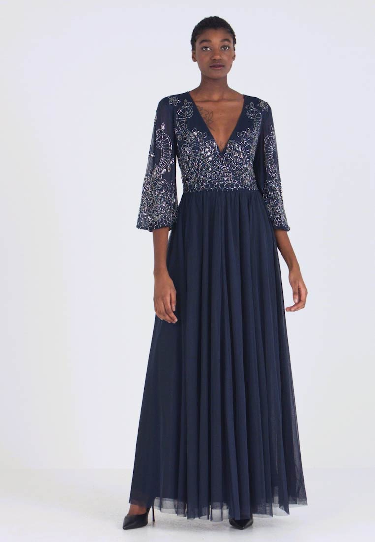 Lace & Beads - BONITA MAXI - Ballkleid - navy - 1