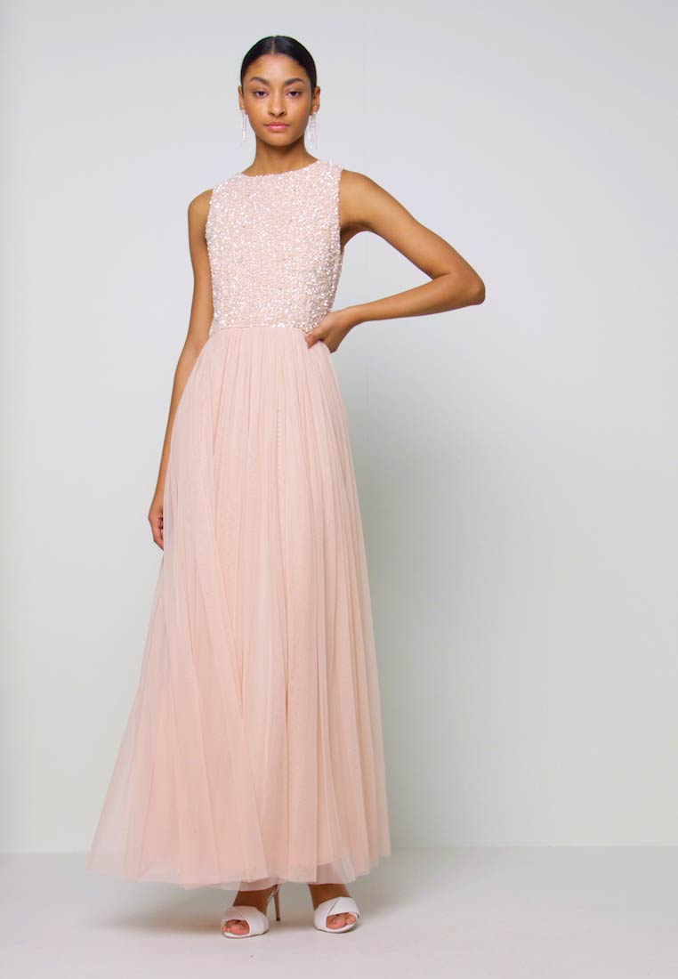 Lace & Beads - PICASSO MAXI - Occasion wear - nude - 1