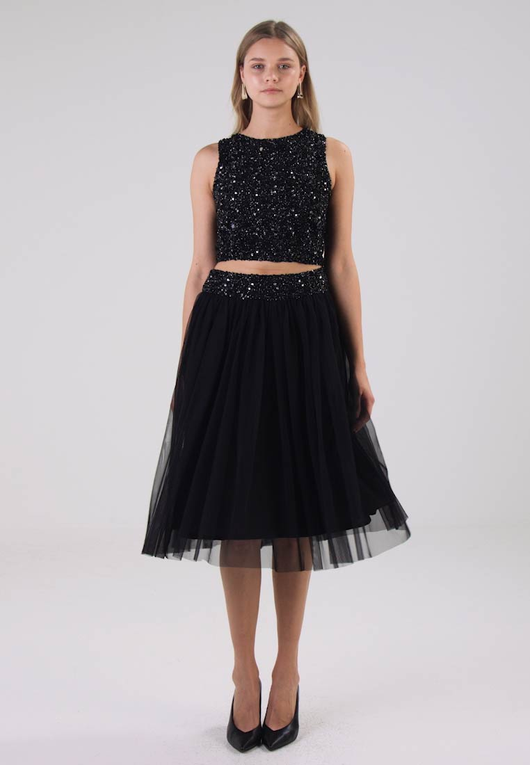 Lace & Beads - PICASSO - Topper - black - 1