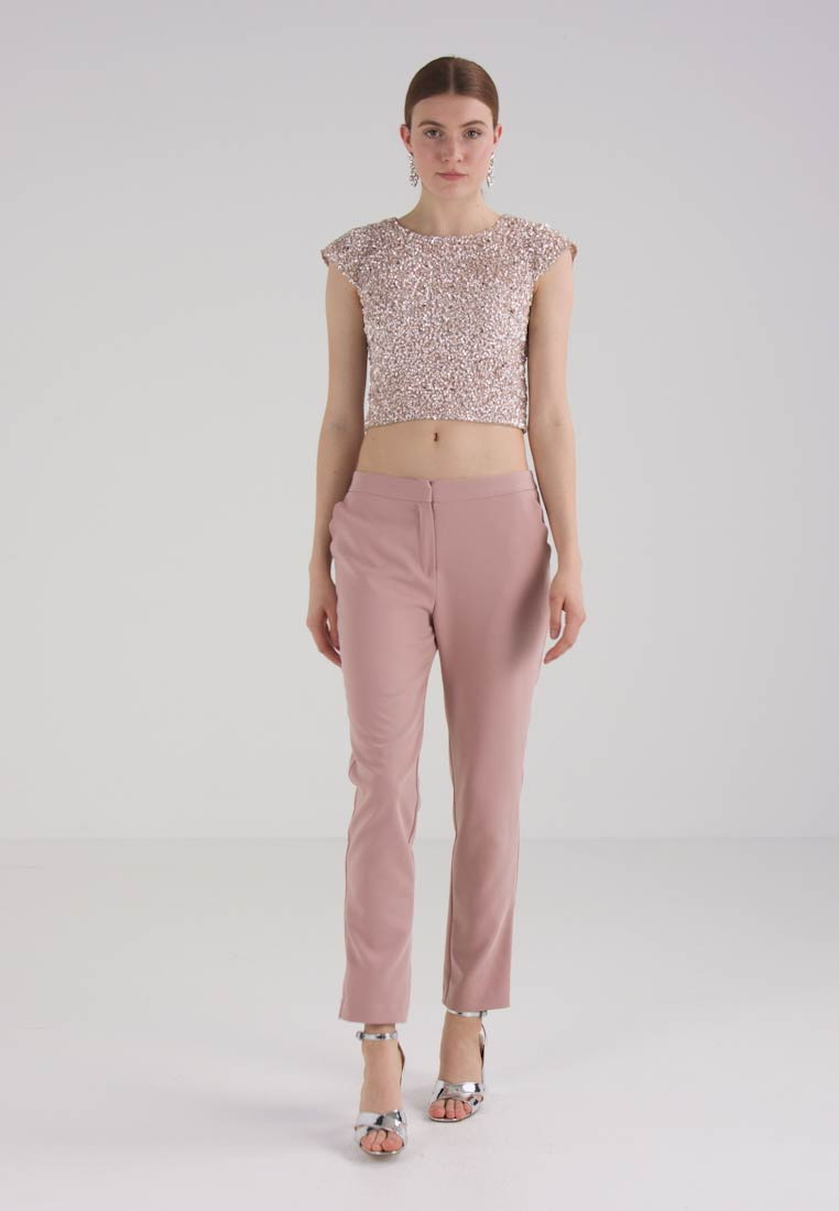 Lace & Beads - PICA  - Blouse - nude - 1