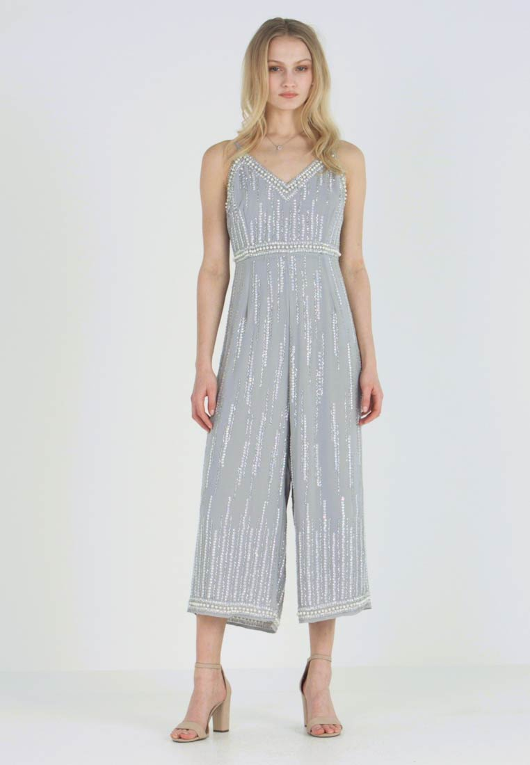 Lace & Beads - BALI CULOTTES - Jumpsuit - silver - 1