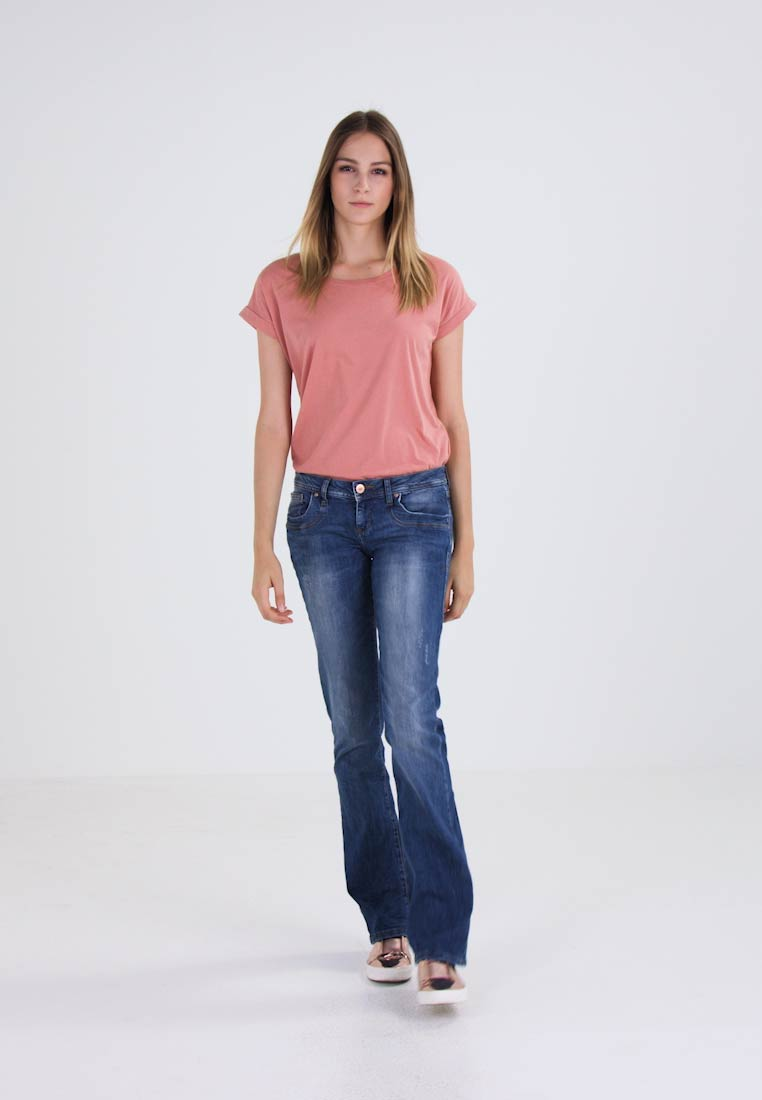 LTB - VALERIE - Bootcut jeans - ceciane wash - 1